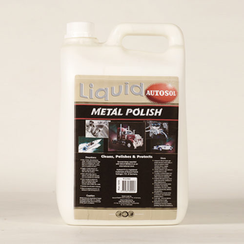 Autosol Metal Polish Liquid 5lt 1215