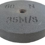 150 x 25 x 12.7mm 60N Replacement Bench Grinder Wheel