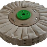 178mm Airflow Natural Buffing Polishing Wheel 2 Section