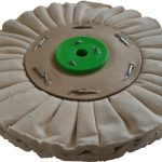 178mm Airflow Natural Buffing Polishing Wheel Single Section