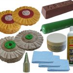 178mm Airflow Alloy Non Ferrous Metal Polishing Kit
