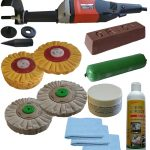 178mm Airflow Alloy Non Ferrous Metal Barell Polisher Kit