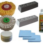 178mm Airflow Stainless Steel Metal Polishing Kit