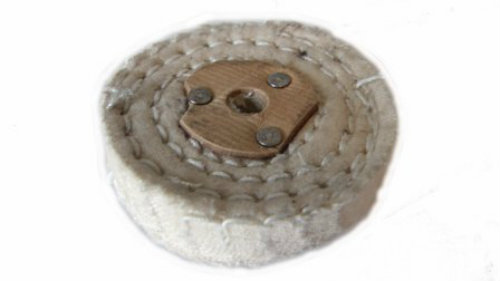 White Stitch Polishing Wheel 2″ 50mm x 1 Section