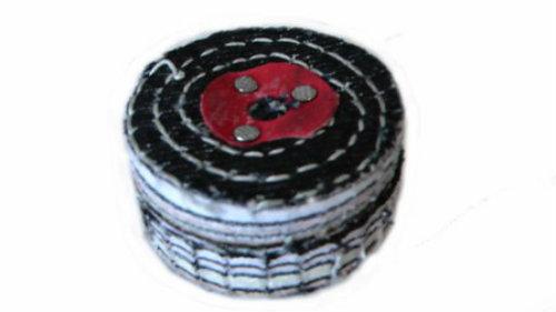 Colour Stitch Polishing Wheel 2 inch 50mm x 2 Sect...