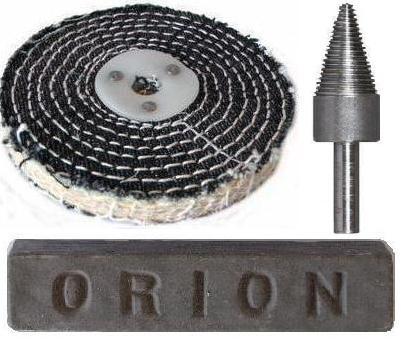"Steel & Hard Metal Pre-polishing Kit With Fastcut 4"" x 1 Section"
