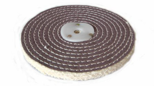 Sisal Polishing Wheel 6 inch 150mm x 1 Section