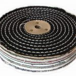Colour Stitch Polishing Wheel 6 inch 150mm x 2 Section