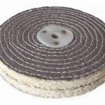 Sisal Polishing Wheel 6 inch 150mm x 2 Section
