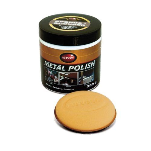 Autosol Metal Polish with Application Pad 350 gram 1035