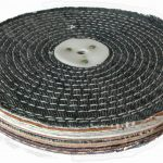 Colour Stitch Polishing Wheel 10 inch 250mm x 2 Section
