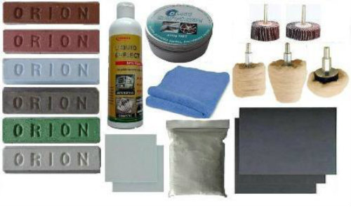 Metal Sanding Prep & Compound Kit