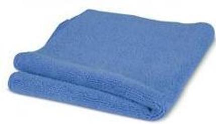 Blue Microfibre Polishing Cloth
