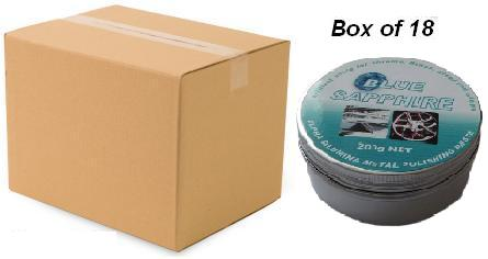 Blue Sapphire polishing paste Box of 18 x 200g