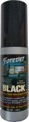 Forever Black Car Care Bumper & Trim Recondit...