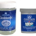 1 Goddards Silver Dip And 1 Goddards Silver Pad Foam