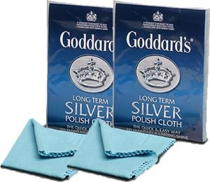 Twin Pack Goddards Long Term Silver Cloth Free Shipping*