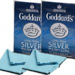 Twin Pack Goddards Goddard's Long Term Silver Cloth Free Shipping*