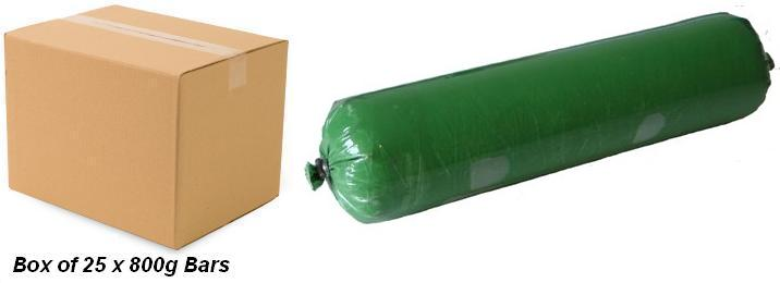 Green Chrome Compound Box of 25 x 800g