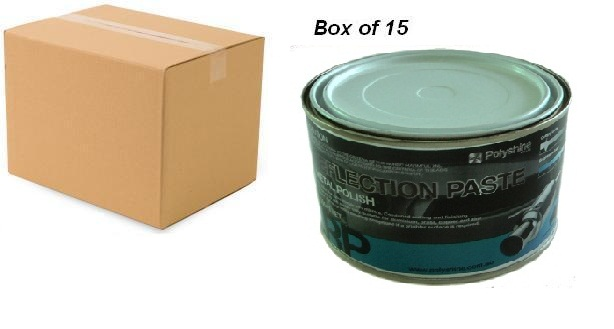 Reflection metal polish paste Box of 15 x 500ml