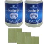 2 Goddards Silver Dips with free Jewellery Cloth Set