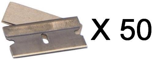 Single Edge Razor Blades for Window Scraper 50 Pce