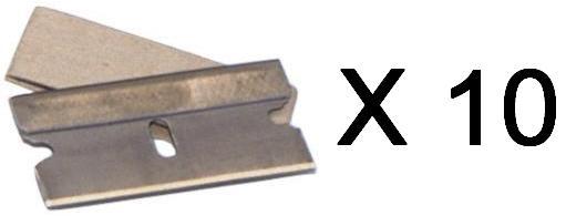 Single Edge Razor Blades for Window Scraper 10 Pce