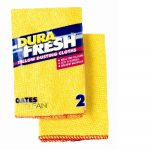 Yellow Dusting Polishing Cloth Twin Pack