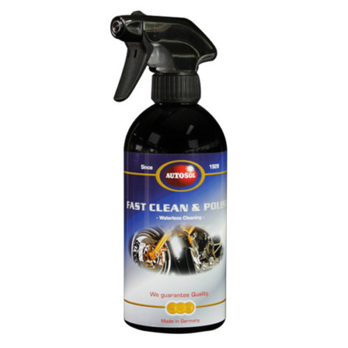 Autosol Fast Clean & Polish 500ml 0620