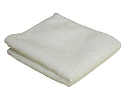 White Microfibre Polishing Cloth