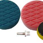 150mm Foam Pad & Backing Pad Buffing Kit