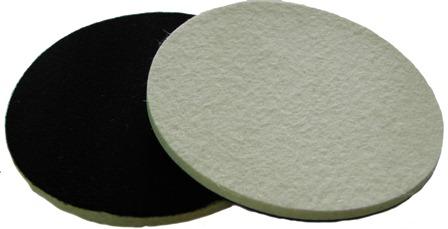 Soft Felt polishing pad for glass plastic metal St...