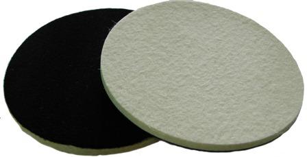 Soft Felt polishing pad for glass plastic metal Stone 6 inch 150mm