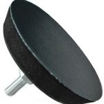 3 inch 75mm Vinyl Backing Pad Self Stick PSA