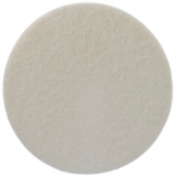 150mm Rayon Velour Felt polishing Pad for glass