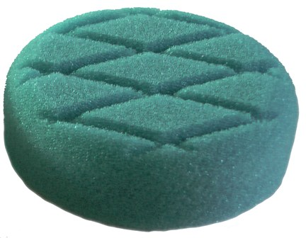 3 Inch 75mm Blue T60 Medium Cut Foam Pad