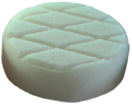 3 Inch 75mm White T20 Polishing/Finishing Foam Pad