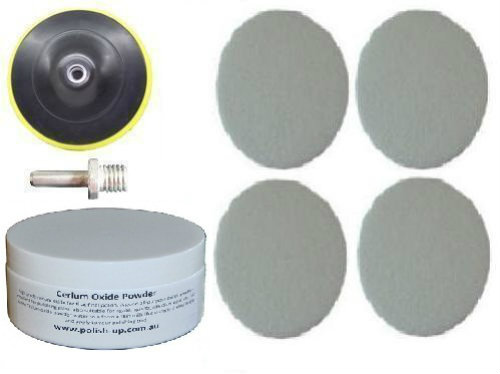 125mm Glass & Perspex Polishing Kit