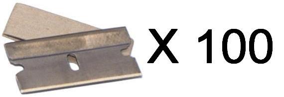 Single Edge Razor Blades for Window Scraper 100 Pce