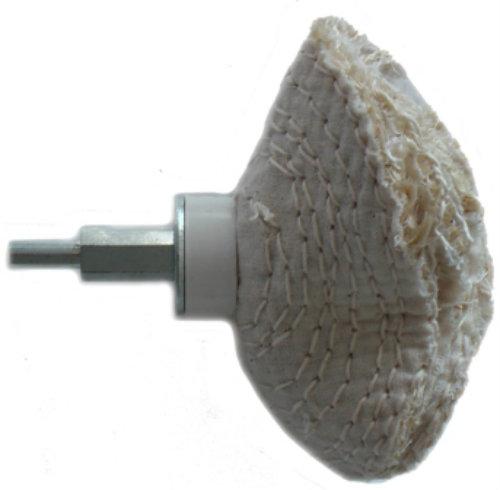 110mm Sisal Dome Polishing Wheel With Mandrel
