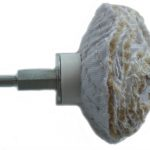 80mm Sisal Dome Polishing Wheel With Mandrel