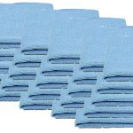 Blue Microfibre Polishing Cloths 25 Pack