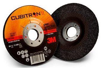 3M Cubitron II Depressed Centre Metal Grinding Wheels – Iron Free