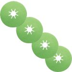 4515 Siabite Resin Fibre Discs  – Green Ceramic