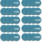 10 Pack of 180mm Wet & Dry Revcut Blue Abrasive hook & loop Pad Discs
