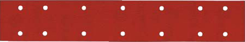 Speedfile Sheets Red Aluminium Oxide